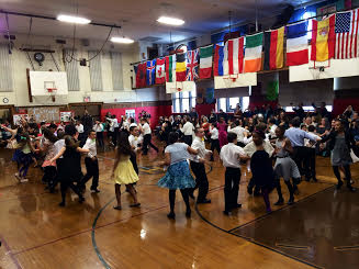 The 5th Grade Ballroom Dancing Moves!