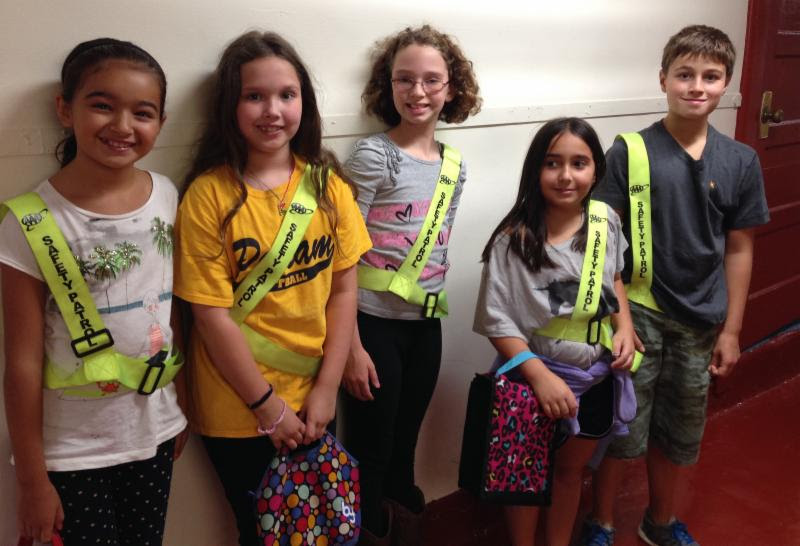 5th Graders are Safety Patrol Monitors!