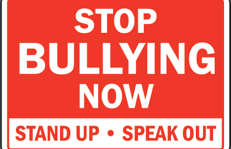 STOP BULLYING! SPEAK UP!