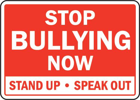 STOP BULLYING! SPEAK UP!