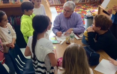 Author David A. Adler Comes To Hutchinson School!