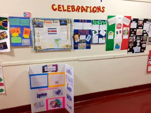 Culture Study in 3rd grade!