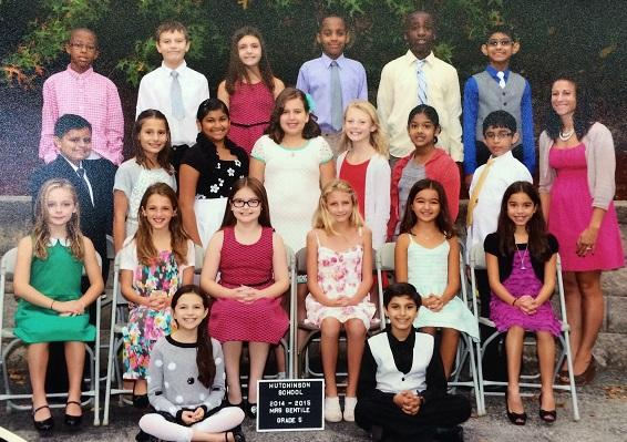 Mrs. Gentile's First Year in Fifth Grade