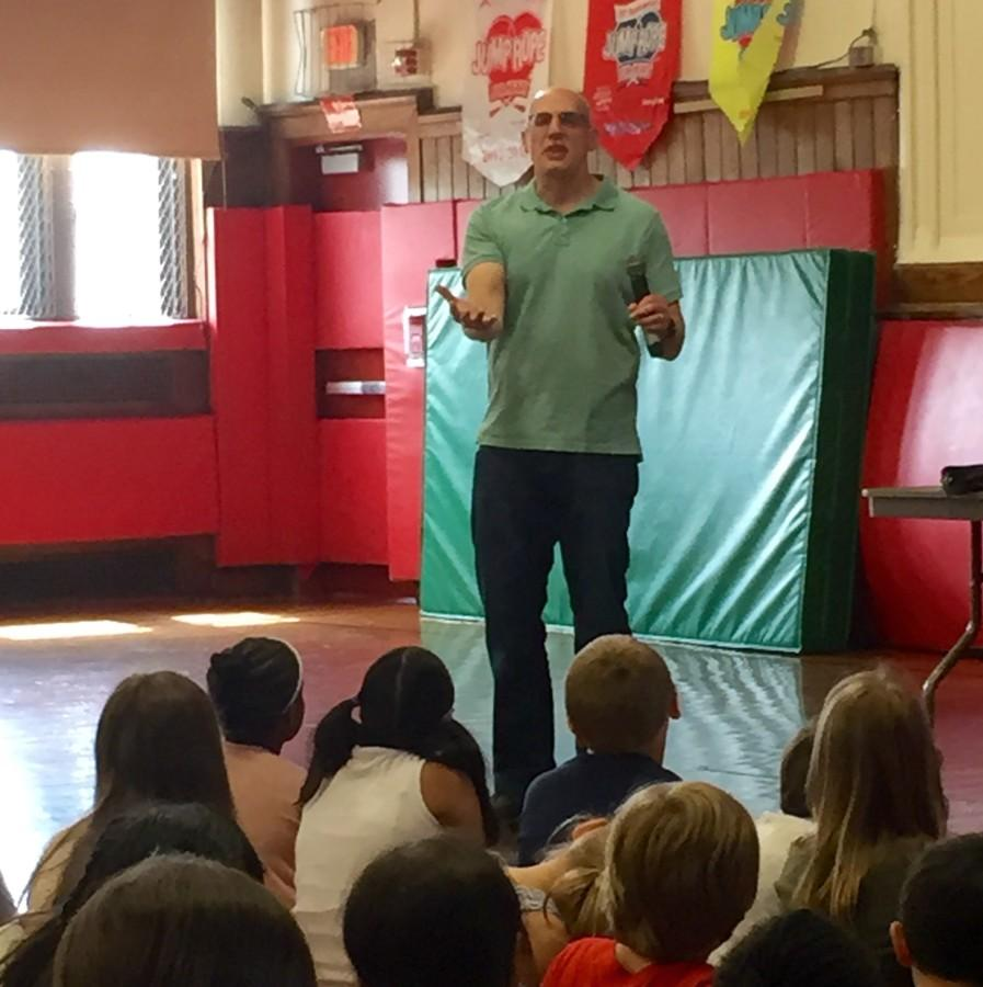 Author Gordon Korman Came to Town!