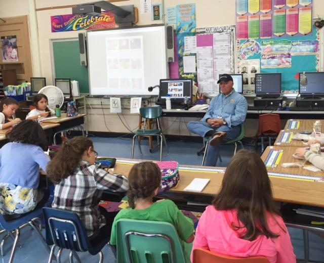 Author Stan Friedmann Visits Hutchinson and Teaches About Persistence!