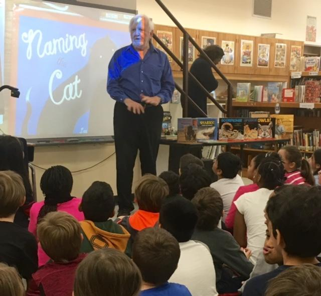 Author Laurence Pringle Visits Hutchinson School!