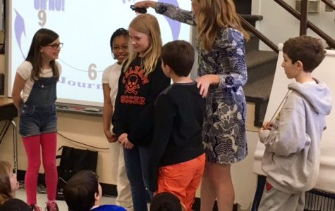 Author Kate Klise Visits Hutchinson School!