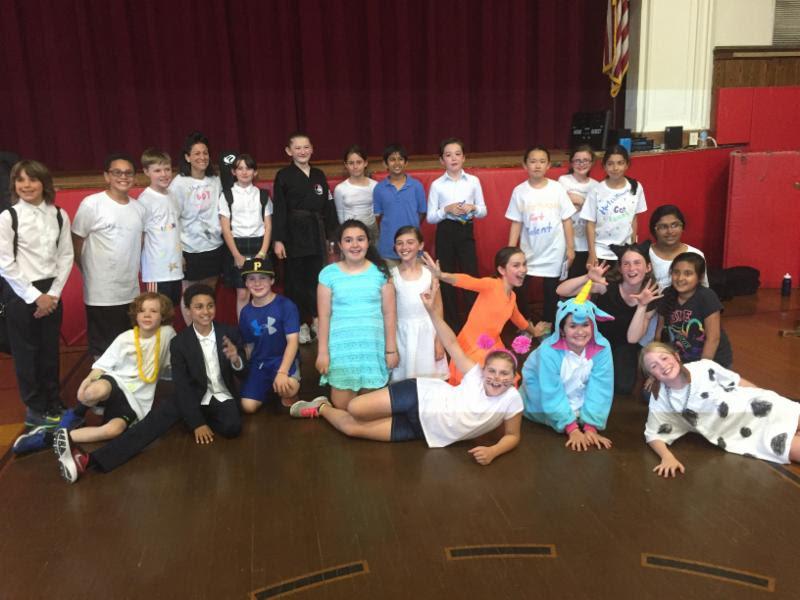 The 5th Grade Talent Show!