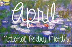 Poetry Month!