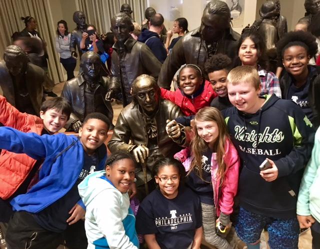5th Graders go to Philadelphia