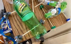 The 4th Grade Recycled Car Project