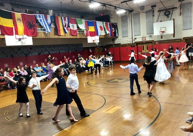 5th Grade Ballroom Dancing Performances