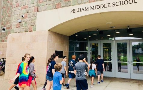 Trip to the Pelham Middle School