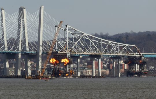 The Demolition of the Tappan Zee Bridge